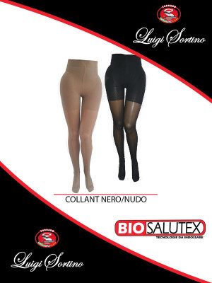 BioSalutex - Collant nero nudo